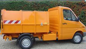 Bertsche LMV3,5 Compacteur de déchets à chargement latérale